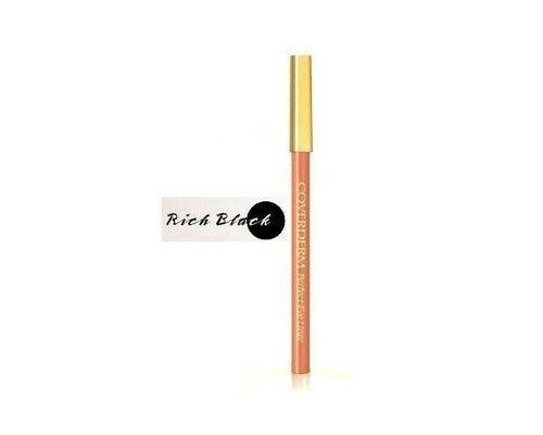 COVERDERM PERFECT EYELINER No1 Rich Black ΜΑΥΡΟ ΜΑΛΑΚΟ,. Photo 0