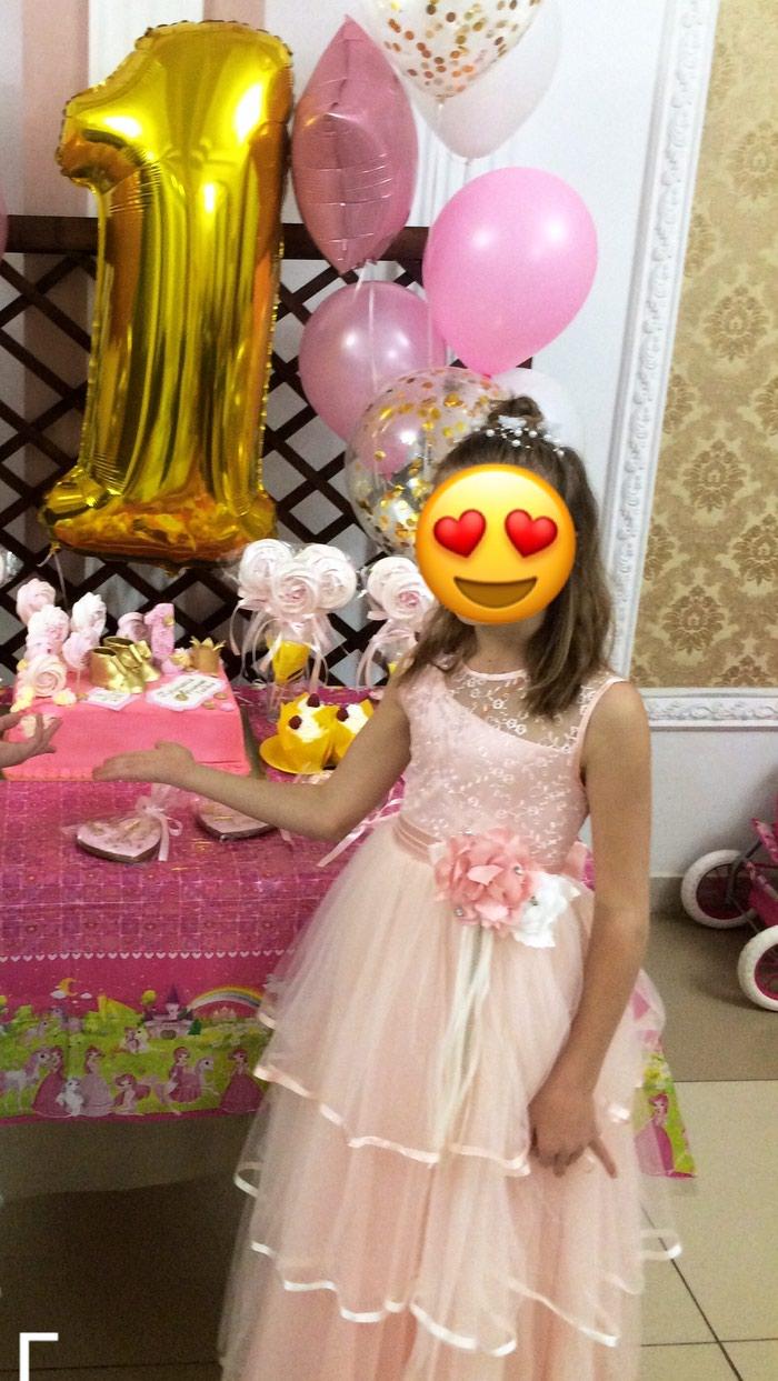 Платье турецкое на 8-9 лет ( брали за 2200)отдаю за 1300телефон в Бишкек