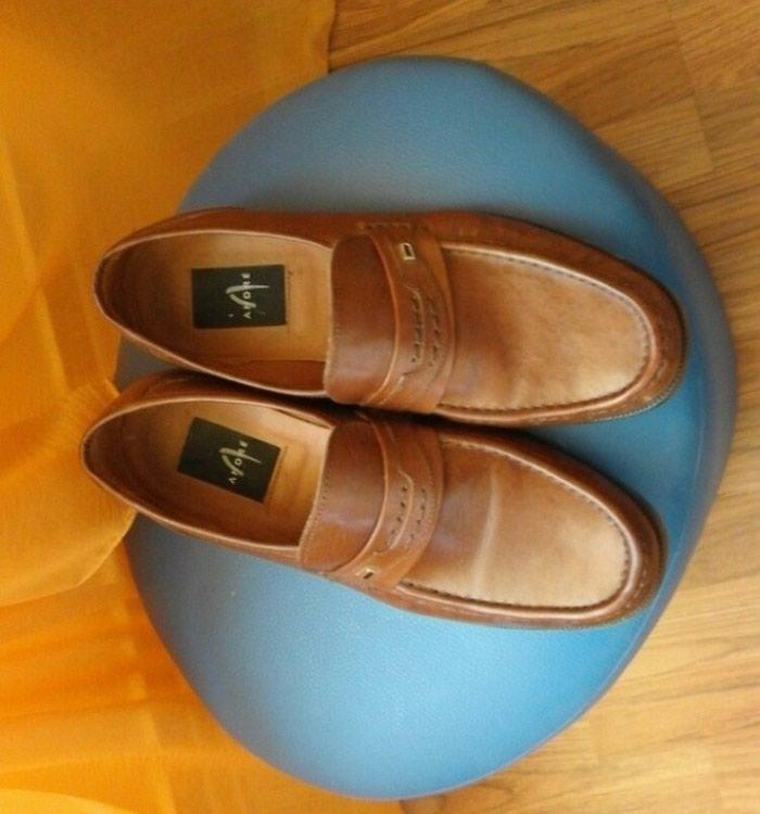Muske kozne cipele,boja kao na prvoj slici - Batocina