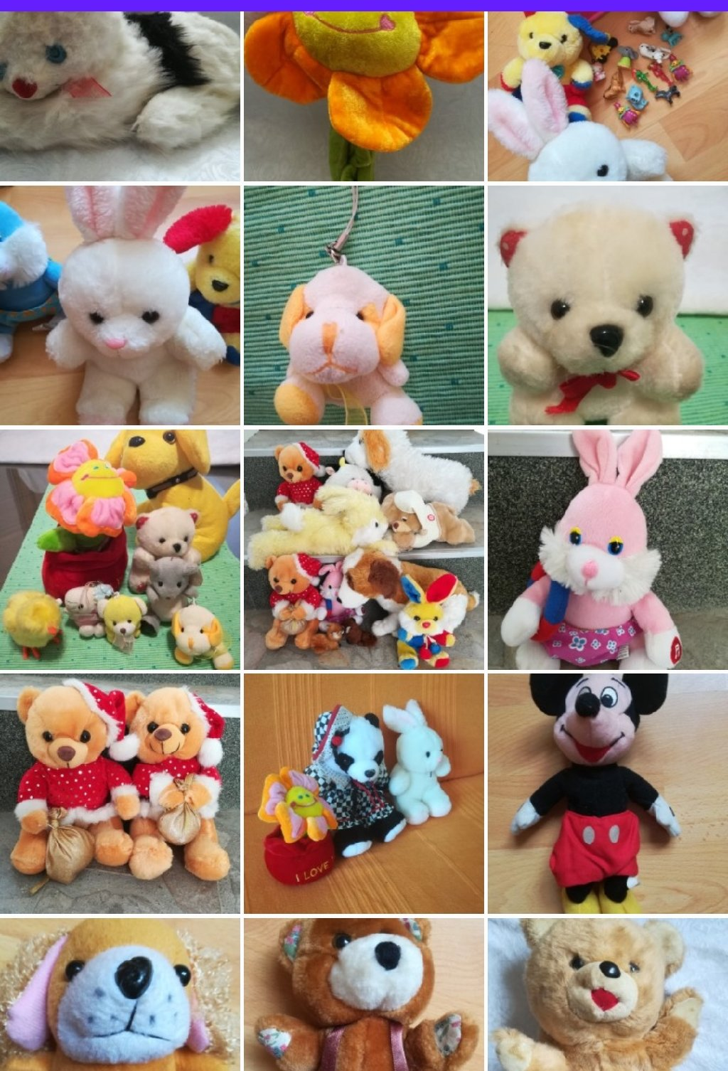 VELIKI PAKET plišanih igračaka preko 50 kom,  vrlo kvalitetnih i očuvanih