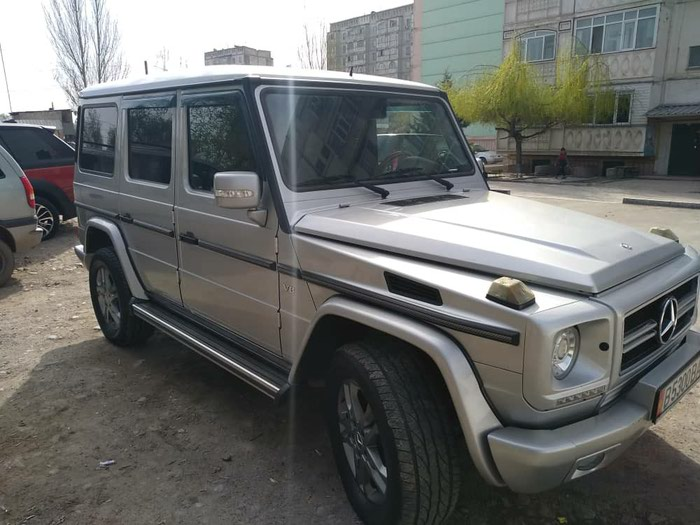 Mercedes-Benz G 400 2004. Photo 1