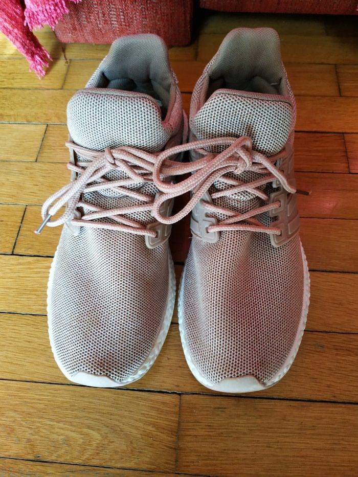 Sneakers με χρυσή πλέξη, νούμερο 40 . Photo 0
