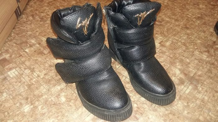 Теплые зимнее ботинки размер 38 бу в Бишкек
