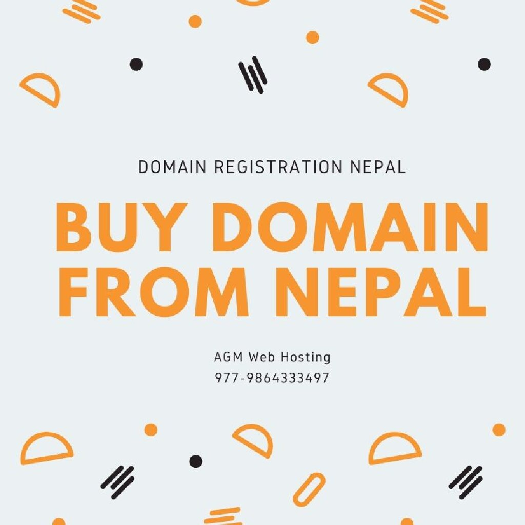 Buy domain from nepal Domain Name Registration Services in Nepal by AGM Web Hosting, Buy