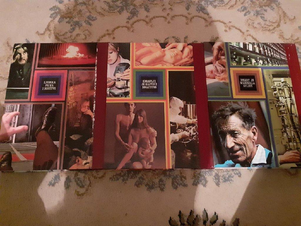 Sve o ZDRAVLJU komplet u 3 knjige