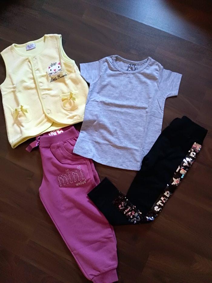Paket nove garderobe za devojčicu. Veličina 98-3.. Photo 0