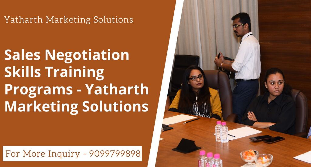 When you talk about the best Sales Negotiation Skills Training company, Yatharth Marketing Solutions is always the first name you hear