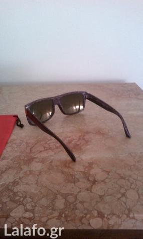 b67ce06b14 Καινούρια ξύλινα γυαλιά ηλίου με χρωματιστά τζάμια καθρεφτη αφόρετα ...
