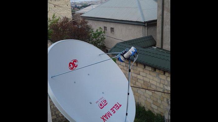 Bakı şəhərində Krosnu peyk anten quraşdırılması temiri