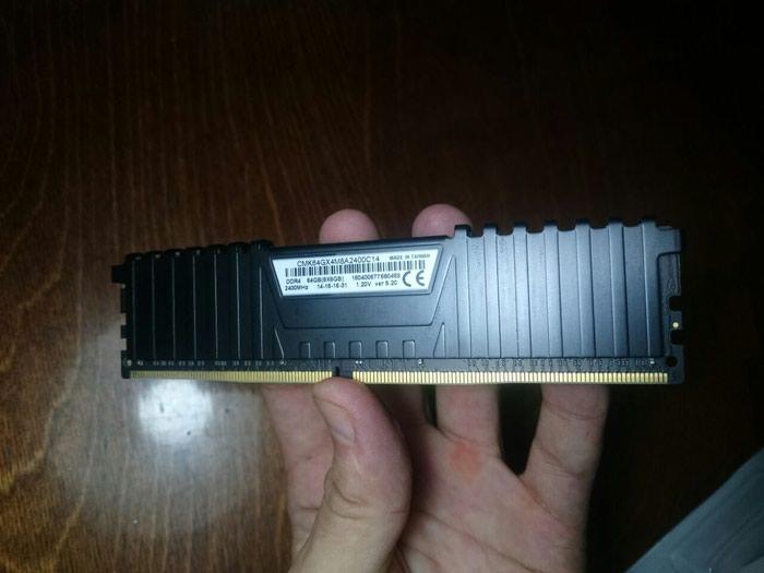 Оперативная память DDR4 8Gb Corsair Vengeance LPX 2400Mhz в Душанбе