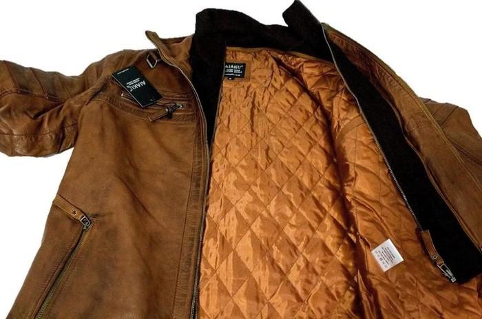 Leather jacket. Photo 0