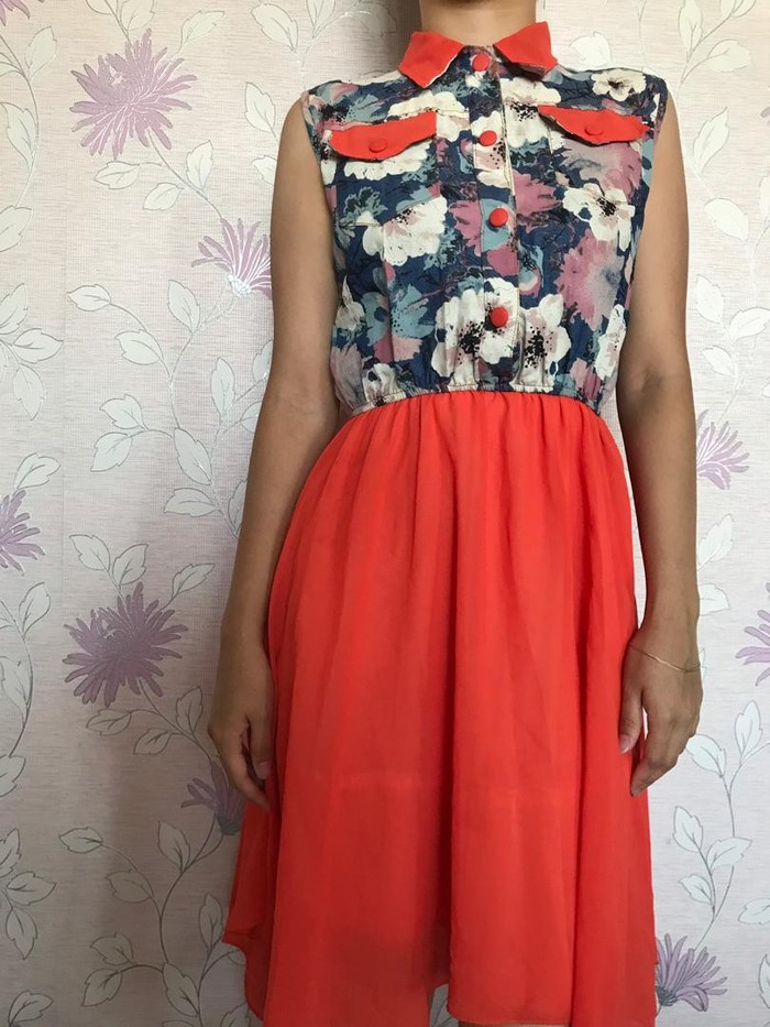Летнее платье Размер 42-44. Photo 0