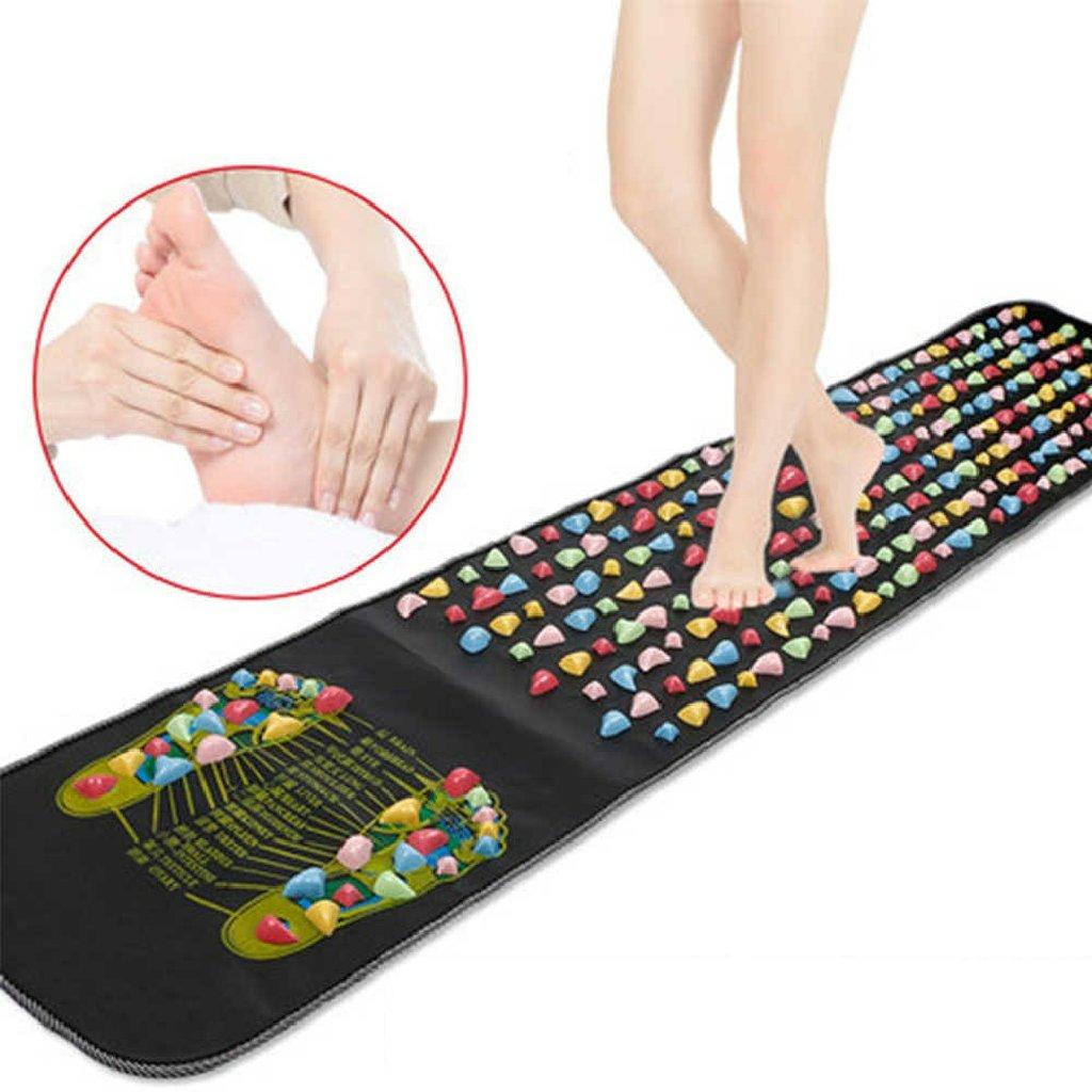 Ортопедический массажный коврик широко используется в медицине для лечения плоскостопия у детей и взрослых
