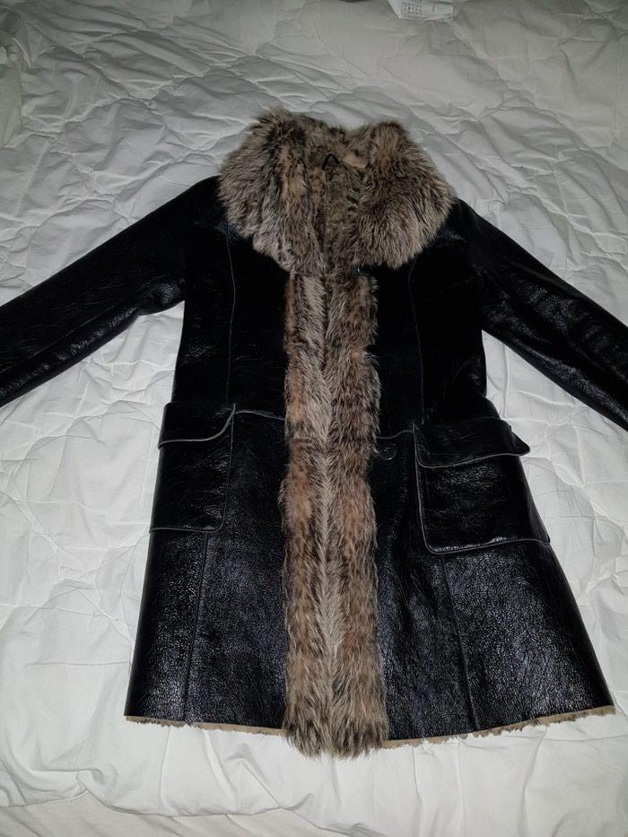 Kozna bunda sa prirodnim krznom. par puta obucena. velicina M. Photo 0