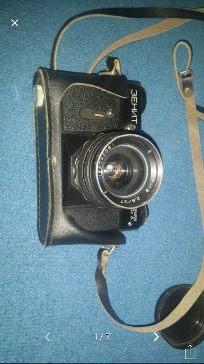 Fotoaparat Zenit s aksesuarami za vse 30 manat.rabotayet bez problem. Photo 0