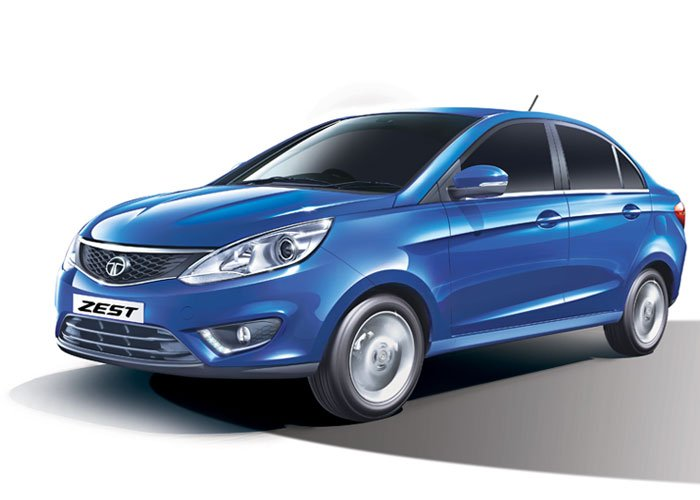 The stunning new tata zest car is here from the trusted brand of tata in Kathmandu