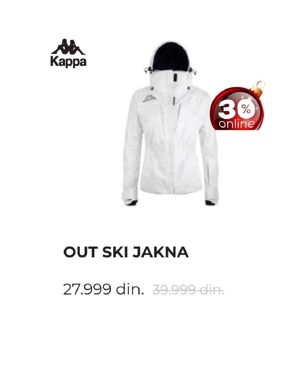 KAPPA ski jakna velicina L