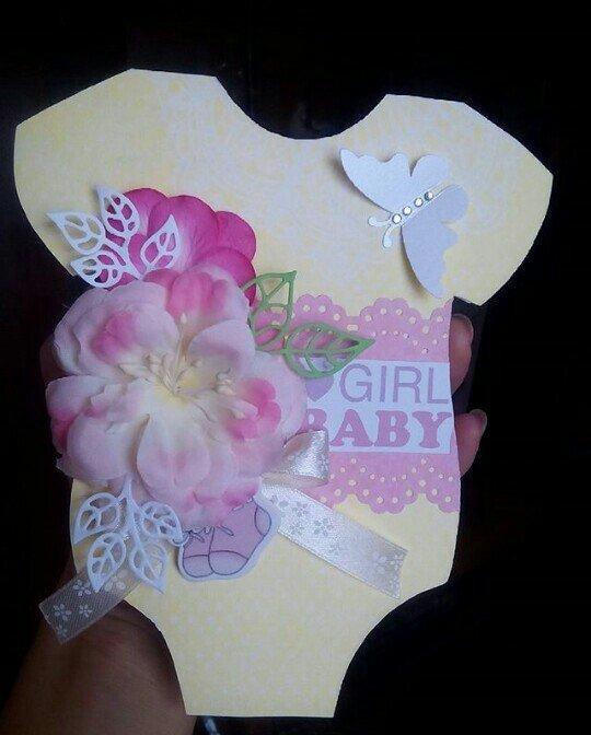 Хорошее дополнение к подарку. Открытка  - поздравление с рождением дев в Бишкек