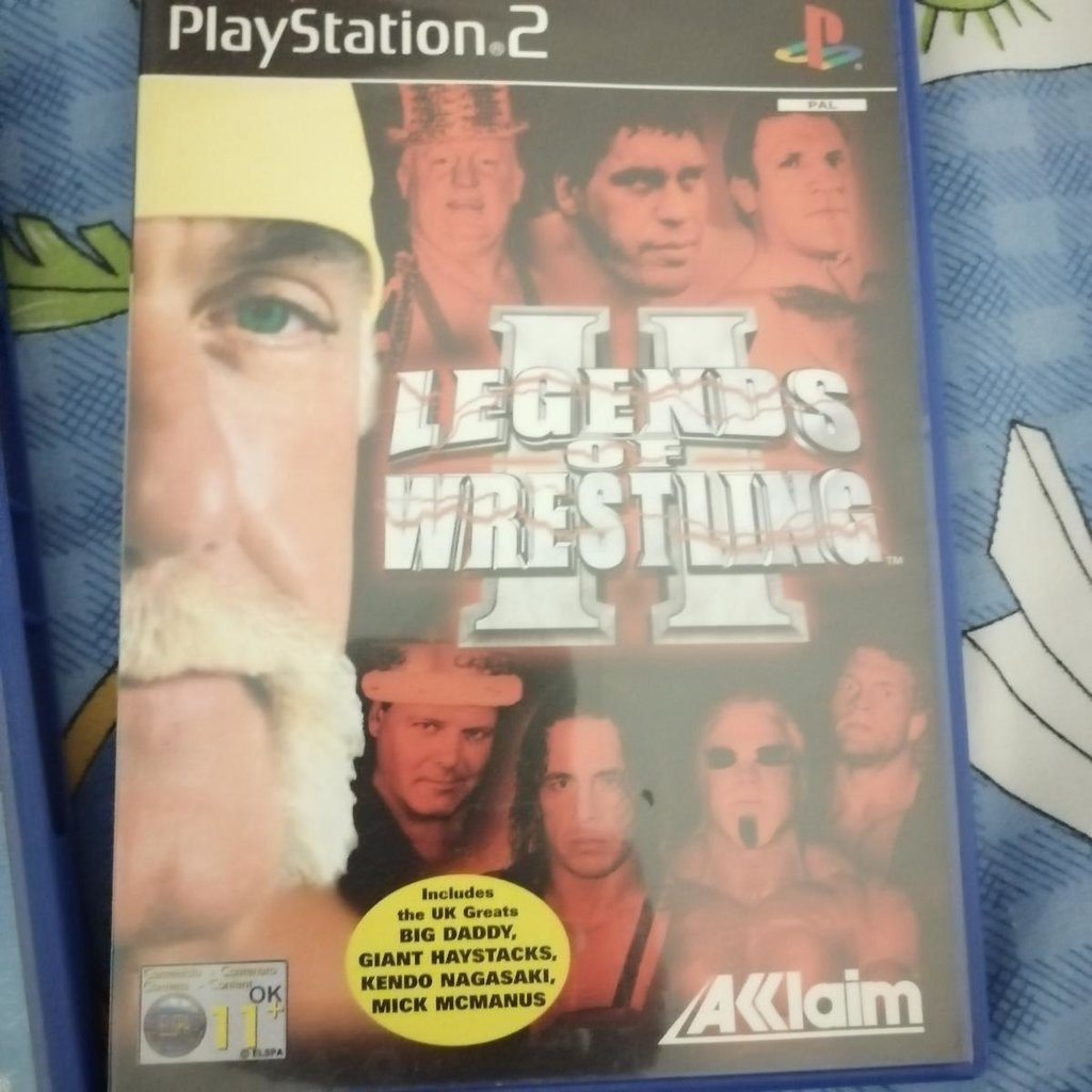 Legends of Wrestling 2 for PlayStation 2. Only a few times played