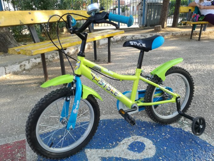 Παιδικό ποδήλατο 16'. Photo 0