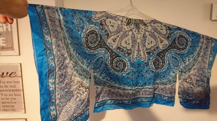 a7115885fd0d Zara μεταξωτή μπλούζα one size for 10 EUR in Σαλαμίνα  Γυναικείος ...