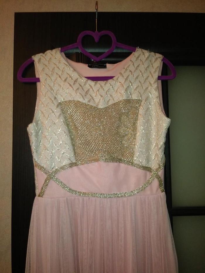 Платье, 1 раз одевала. размер S-M. . Photo 1