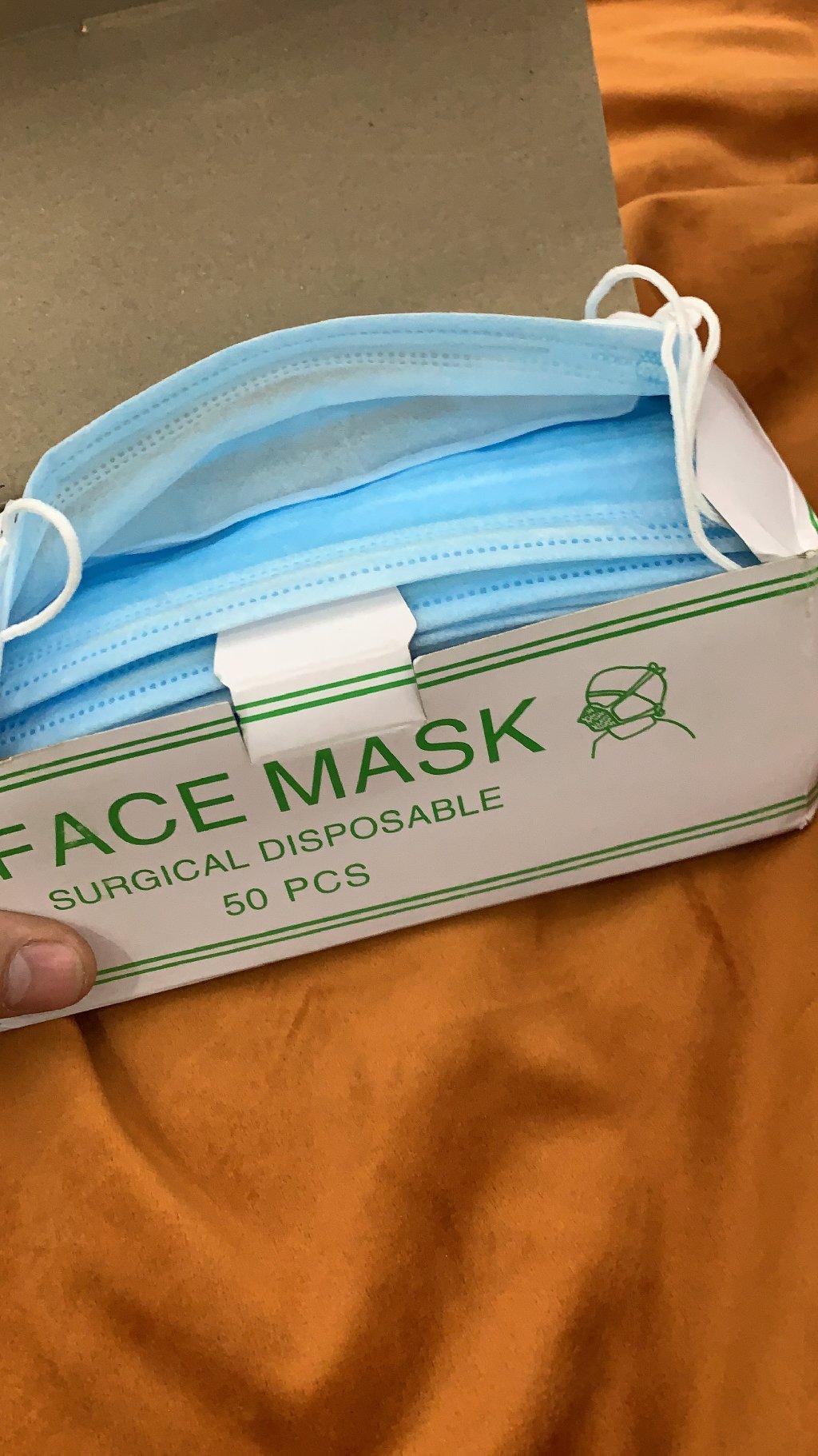 Медицинские маски 23 000 штук