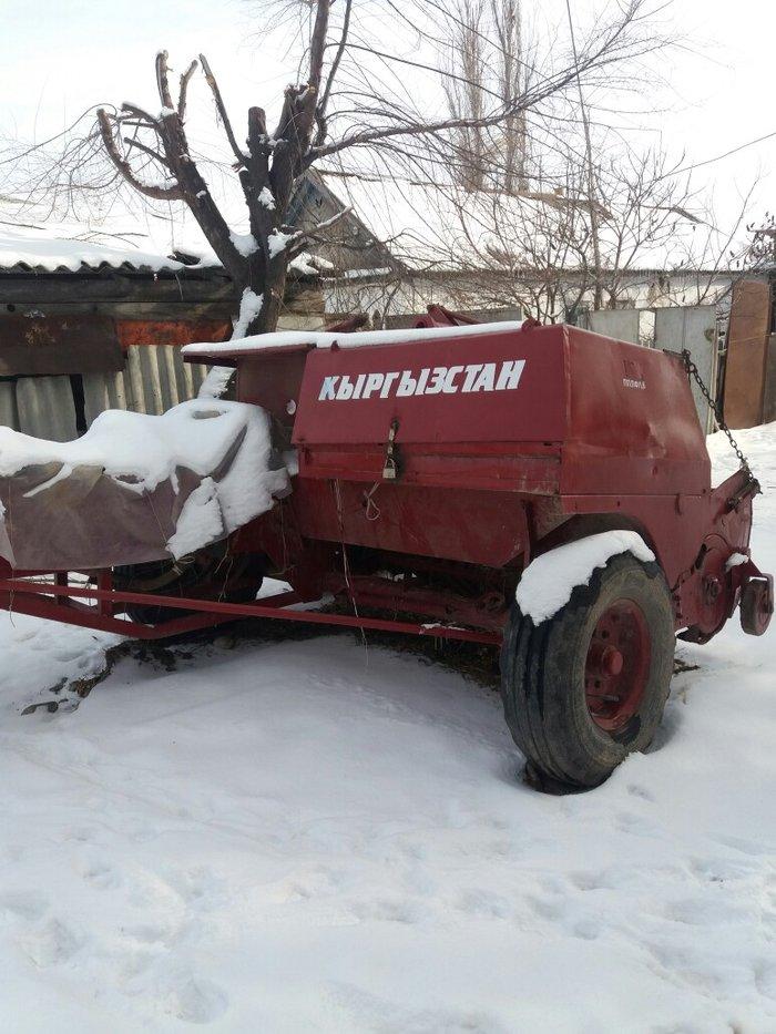 Продаю МТЗ-82 + Пресс-подборщик Кыргызстан оба в хорошем.