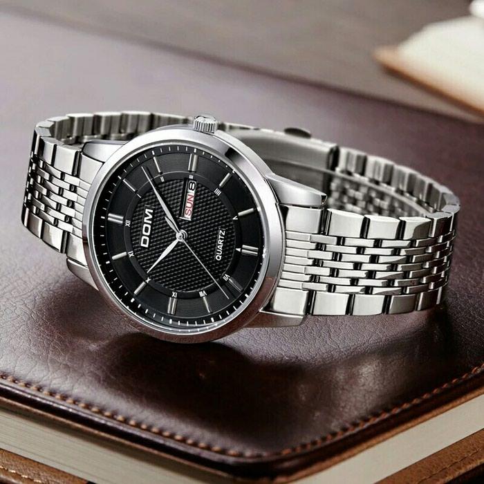 Деловые часы из нержавеющей стали для. Photo 2