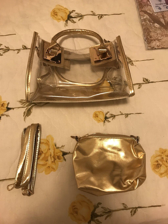Γυναικεία διαφανή τσάντα