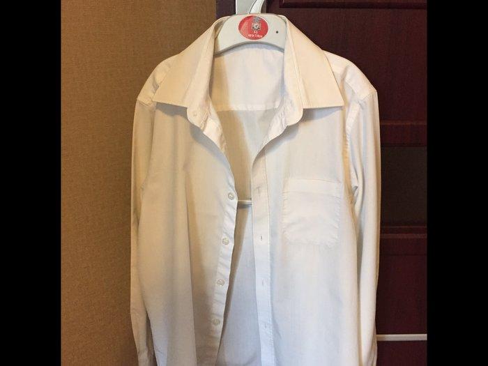 Рубашка для мальчика, в хорошем состоянии, размер 9/10 лет,m&s. Photo 1