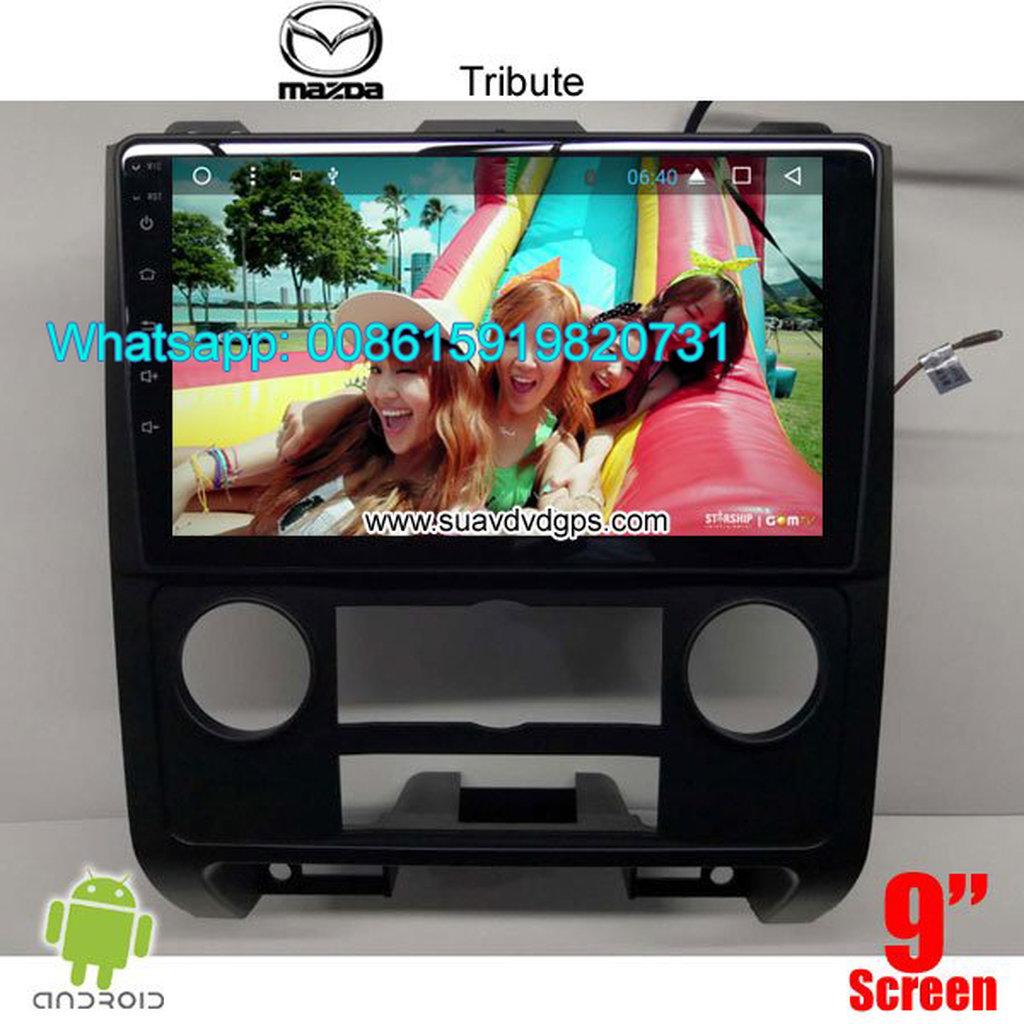 Mazda Tribute Car stereo audio radio android GPS navigation camera