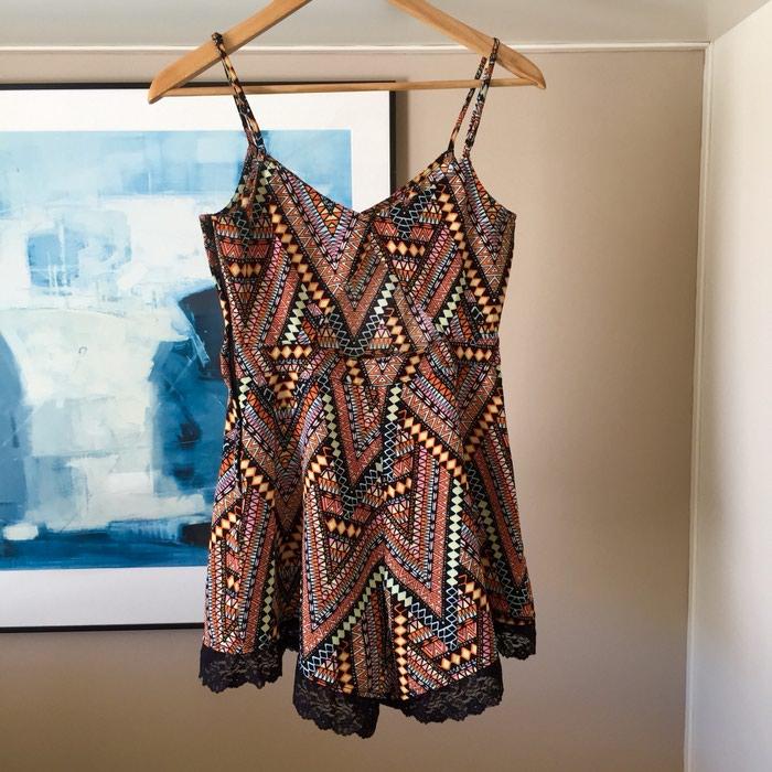 H&M κοντή αμάνικη ολόσωμη φόρμα. Tribal,. Photo 5