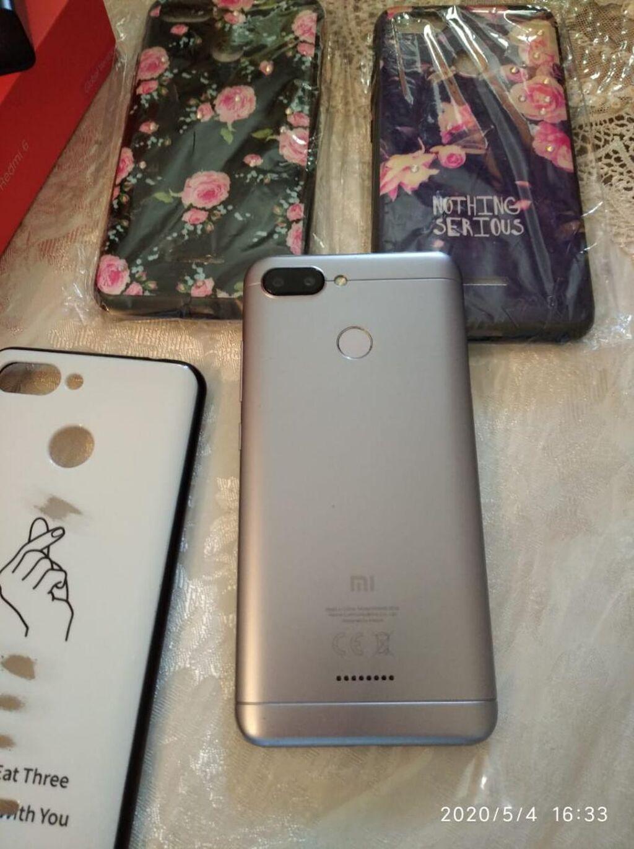 Xiaomi Redmi 6 64 GB Gümüşü