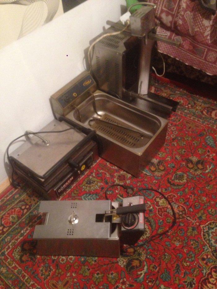 Sumqayıt şəhərində Doner aparati, toster, perawki aparati, kartof fri aparati, tok saci q