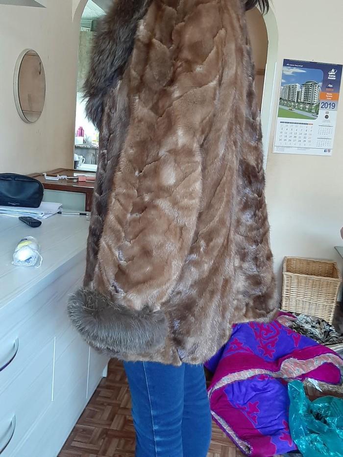 Продаю зимнюю норковую шубу 48-52 размера. Photo 1