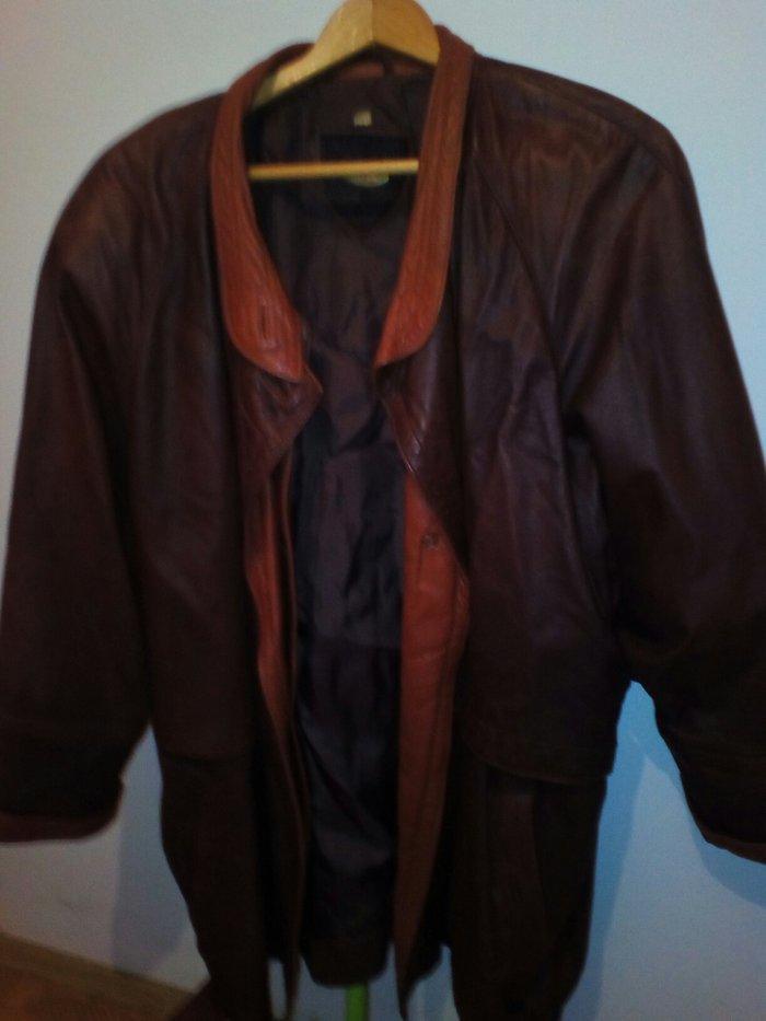 Kozna zenska jakna, teleca napa, vel. 14a, ranglan rukav, kosi - Pozarevac