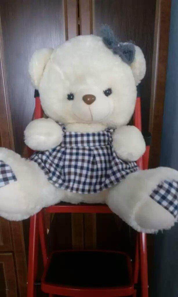 Продаю плюшевых медведей цена от 100 и 150с. размеры разные  70 и 50. Photo 1