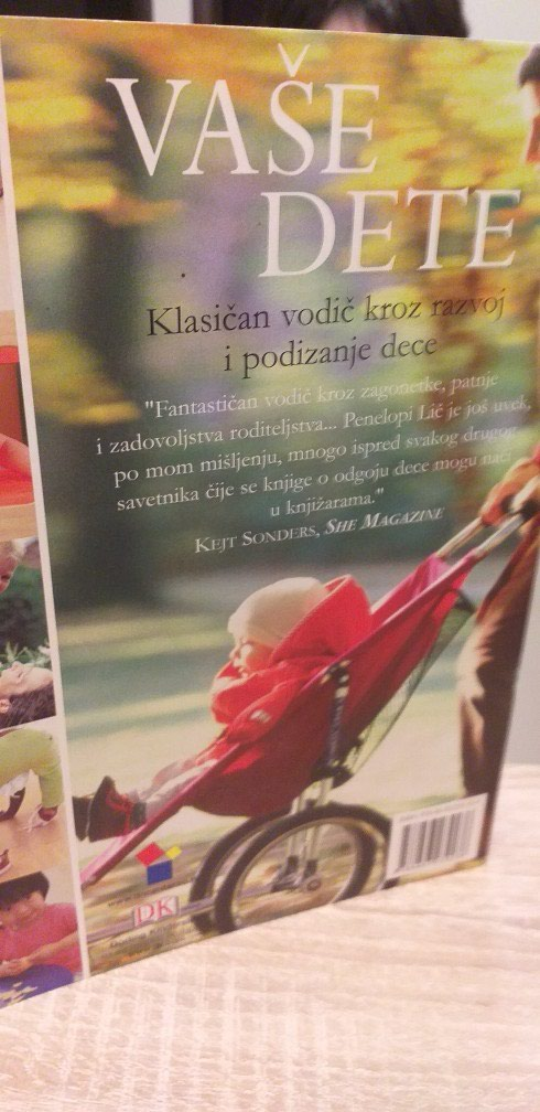 Penelopi Lic.VASE DETE.Fantasticna knjiga za roditelje.Na 550strana.. Photo 1