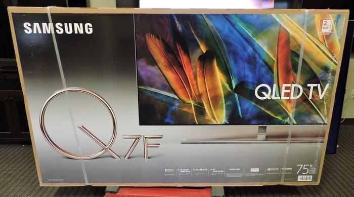 Новый Samsung Q7F QN75Q7FAMF 75-дюймовый 4K Ultra HD LED Smart TV. Photo 0