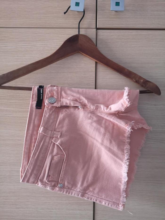 Γυναικείο σορτσάκι μίνι ροζ παλ. Άριστη κατάσταση
