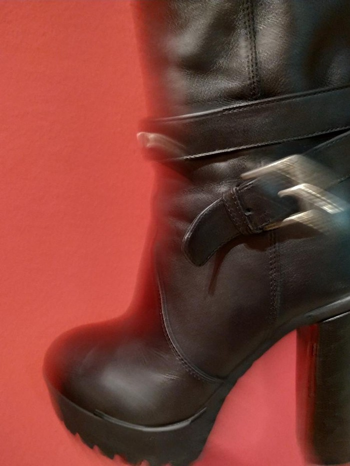 Μπότες μέχρι γόνατο, δέρμα, Richmond, νούμερο 36, σχεδόν καινούριες. Photo 6