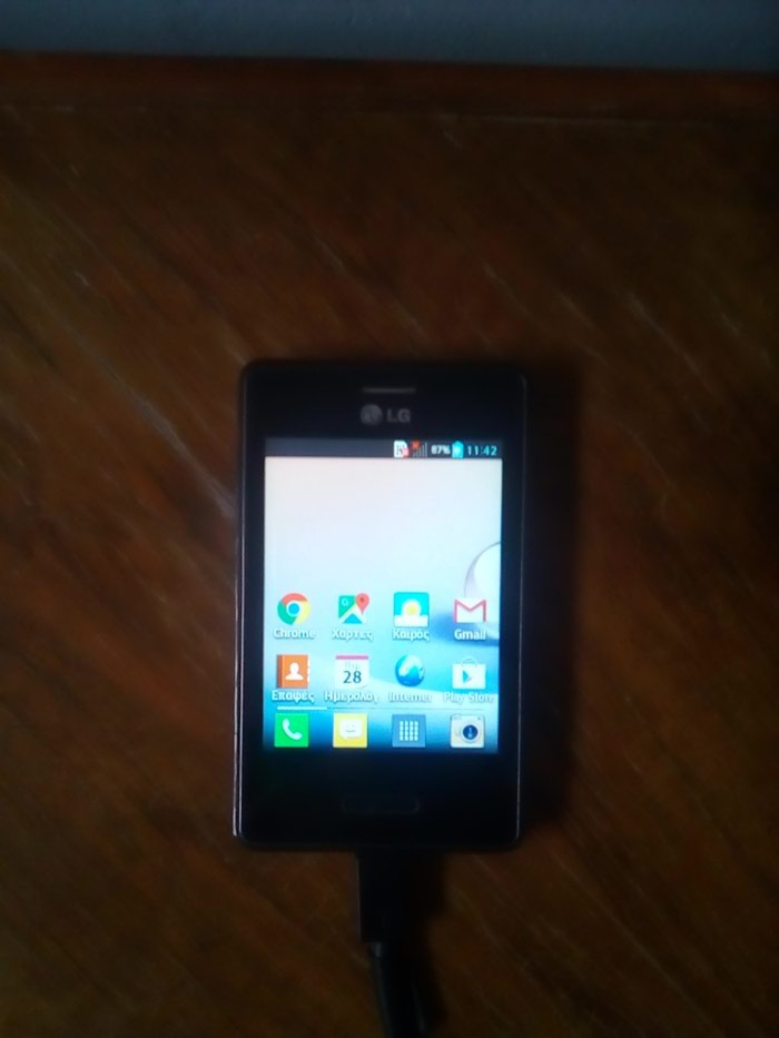 Smartphone LG-E430, 4.1.2, Android 1.75 GB, με φορτιστή