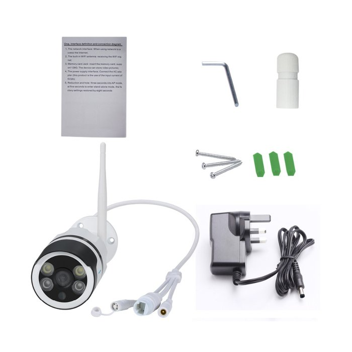 Escam qf508 HD 1080 P Simsiz WIFI IP Kamera Outdoor IP66 Suya davamlı. Photo 5