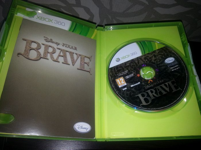 BRAVE XBOX 360 - Disney - Pixar Original. Photo 1
