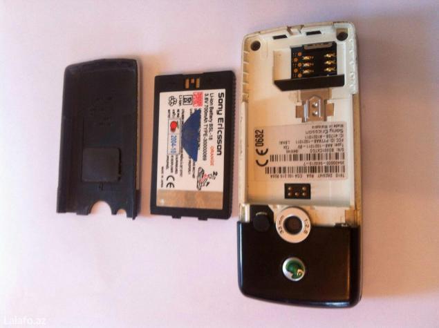 Bakı şəhərində Sony ericsson t610 tam original,az iştənilib,batareya zavod,acilmayib.
