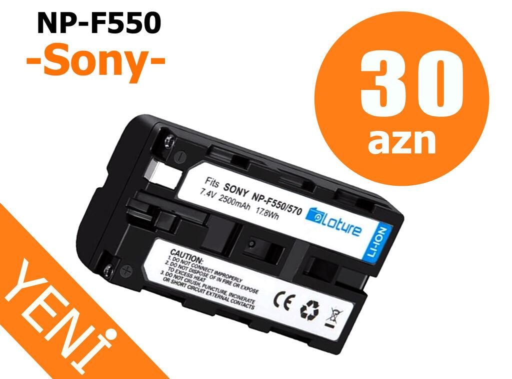BREND Sony NP-F550 batareyasi