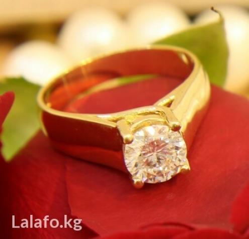 Кольцо с большим бриллиантом 1. 53карат с документами в Бишкек