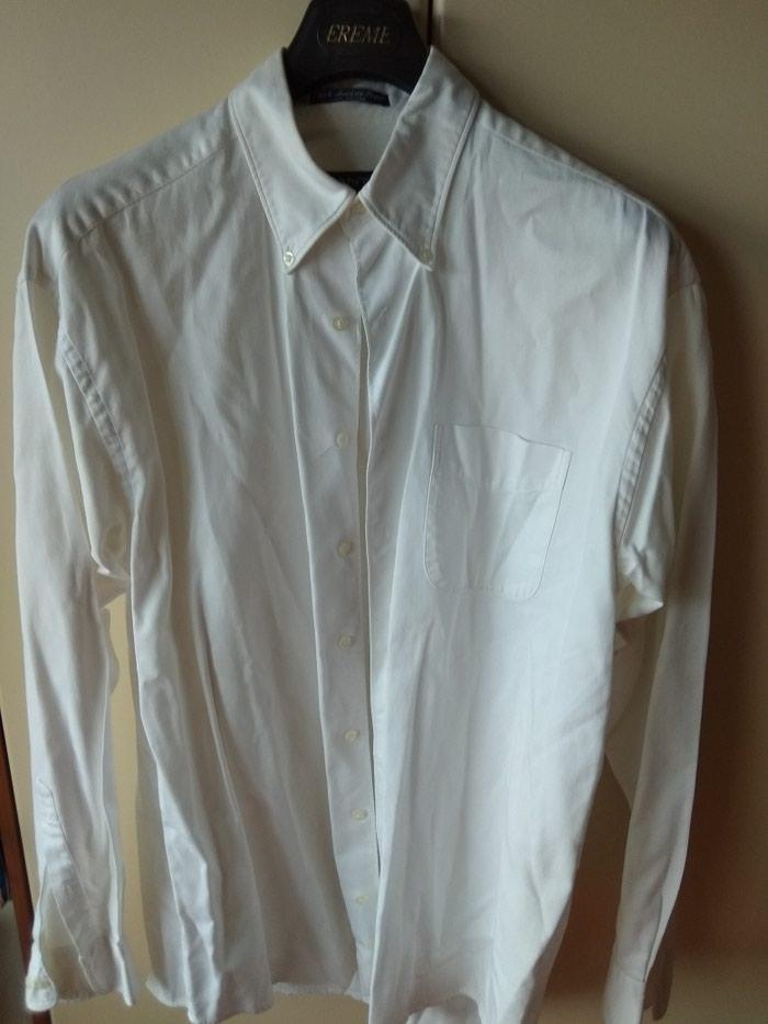 GANT πουκάμισο, λευκό, large, σχεδόν αφόρετο, από την προσωπική μου καρνταρόμπα
