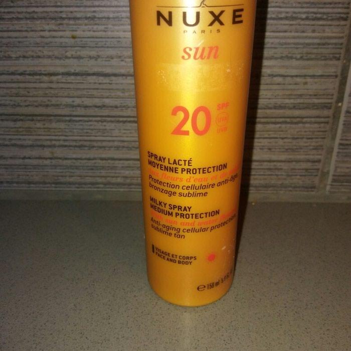 Nuxe αντιηλιακο με spf 20. περιεχει 140 ml.. Photo 1